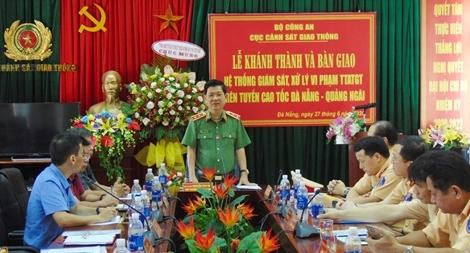 Khánh thành hệ thống giám sát trên cao tốc Đà Nẵng - Quảng Ngãi