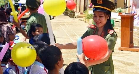 Phát huy vai trò xung kích của tuổi trẻ Công an Quảng Nam