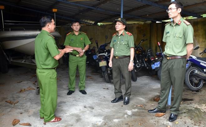 Công an Quảng Nam chủ động phương án ứng phó bão số 9