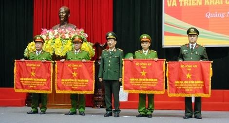 Công an Quảng Nam triển khai công tác năm 2021