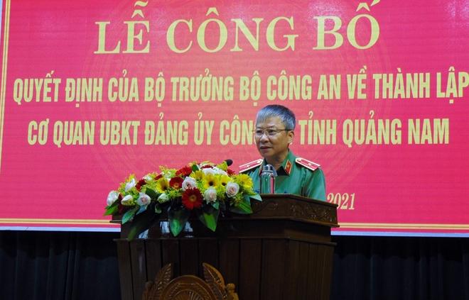 Thành lập Cơ quan Ủy ban Kiểm tra Đảng ủy Công an tỉnh Quảng Nam - Ảnh minh hoạ 2