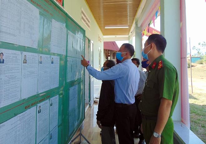 Công an Quảng Nam sẵn sàng đảm bảo an ninh, an toàn cho Ngày bầu cử