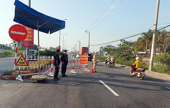 Quảng Nam thành lập chốt kiểm soát dịch COVID-19 ở đèo Lò Xo