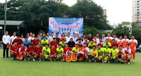 Báo CAND, Cục Ngoại tuyến và Công an huyện Gia Lộc giao lưu thể thao, văn nghệ