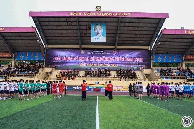 Khai mạc giải bóng đá Cúp Thanh niên Học viện An ninh nhân dân