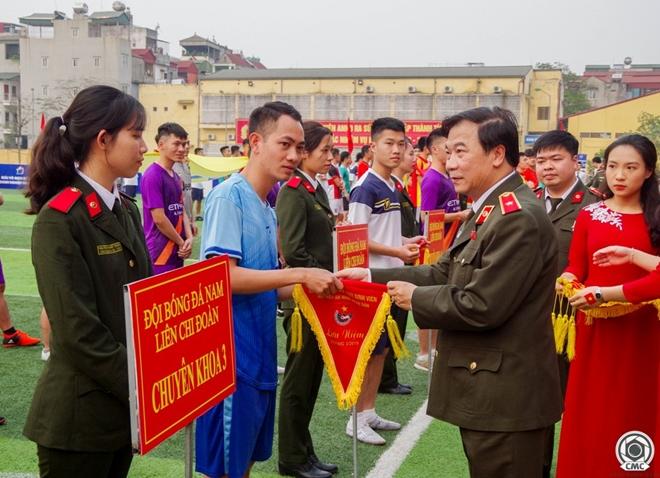 Khai mạc giải bóng đá Cúp Thanh niên Học viện An ninh nhân dân - Ảnh minh hoạ 6