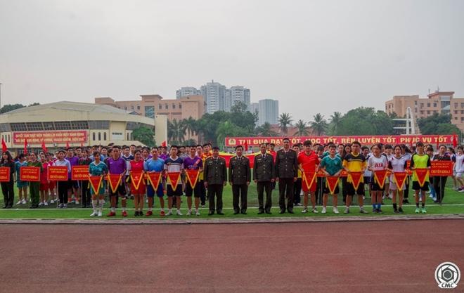 Khai mạc giải bóng đá Cúp Thanh niên Học viện An ninh nhân dân - Ảnh minh hoạ 7