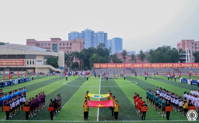 Khai mạc giải bóng đá Cúp Thanh niên Học viện An ninh nhân dân - Ảnh minh hoạ 4