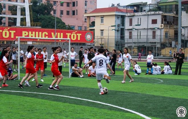 Khai mạc giải bóng đá Cúp Thanh niên Học viện An ninh nhân dân - Ảnh minh hoạ 8