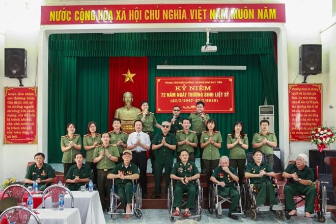 Học viện ANND thăm, tặng quà Trung tâm điều dưỡng thương binh Duy Tiên - Ảnh minh hoạ 6