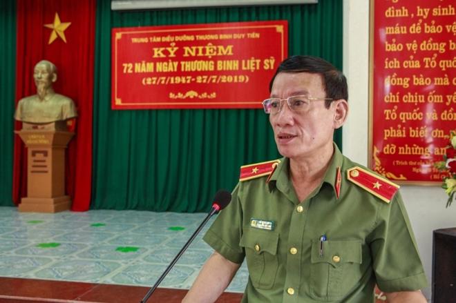 Học viện ANND thăm, tặng quà Trung tâm điều dưỡng thương binh Duy Tiên - Ảnh minh hoạ 3