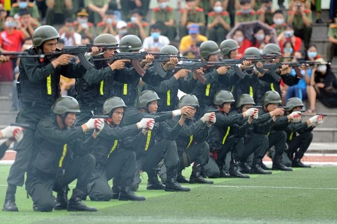 """Những hình ảnh đẹp của lực lượng CAND tại Đại hội khoẻ """"Vì an ninh Tổ quốc"""" - Ảnh minh hoạ 27"""