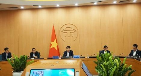 Hà Nội chia sẻ kinh nghiệm chống dịch COVID-19 với Thị trưởng 40 thành phố trên thế giới