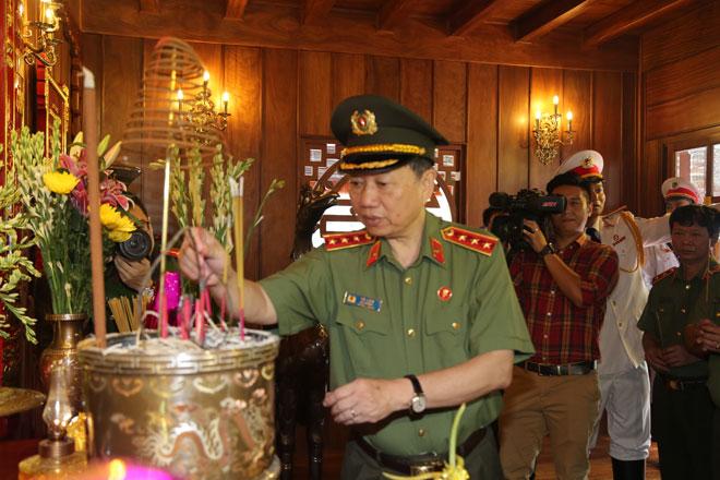 Bộ Công an khánh thành Nhà tưởng niệm Chủ tịch Hồ Chí Minh