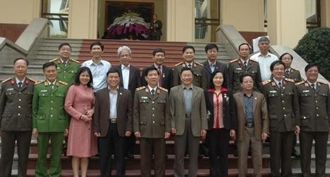 Hội nghị giao ban Ban chỉ đạo phong trào Toàn dân bảo vệ ANTQ