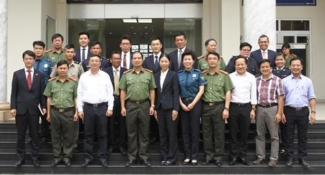 Khai giảng khóa tiếng Việt cho học viên an ninh, cảnh sát các nước