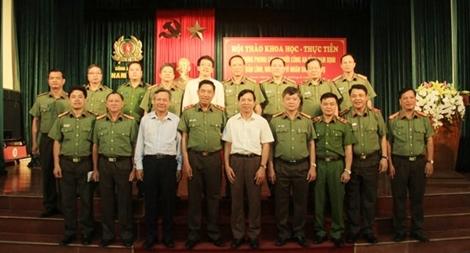 Hội thảo về phong cách người Công an nhân dân bản lĩnh