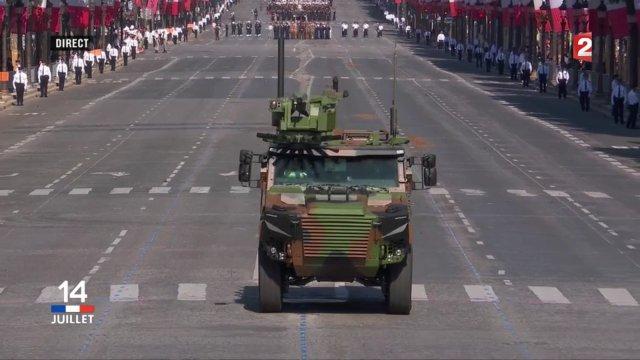 Pháp khoe thiết giáp mới trong ngày Quốc khánh