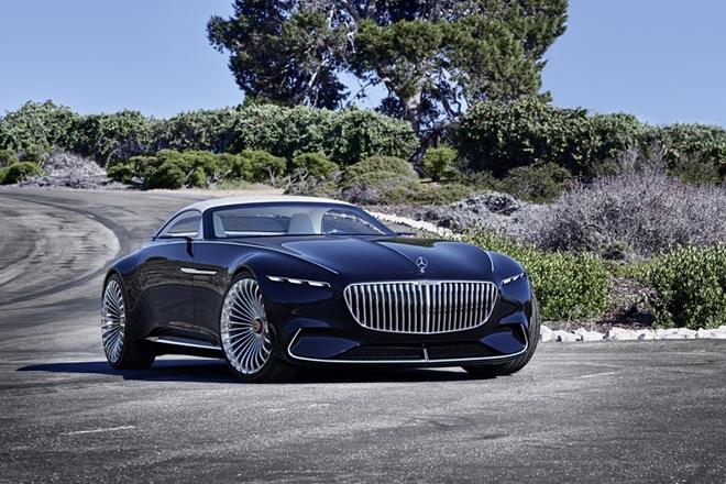 Mercedes tiết lộ mẫu xe mui trần siêu sang, siêu xanh