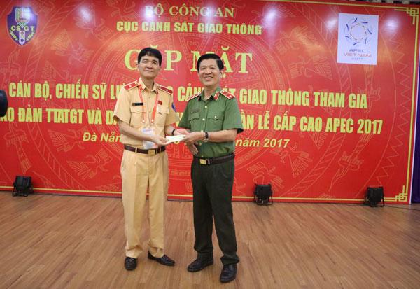 Thứ trưởng Nguyễn Văn Sơn động viên lực lượng CSGT tham gia phục vụ Tuần lễ cấp cao APEC - Ảnh minh hoạ 5