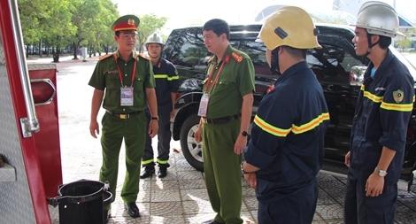 Cảnh sát PCCC TP Đà Nẵng đã đóng góp thành tích vào thành công chung của APEC 2017