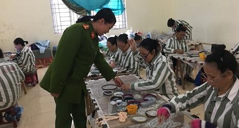 Chuyện về những nữ quản giáo ở Trại giam Tân Lập1