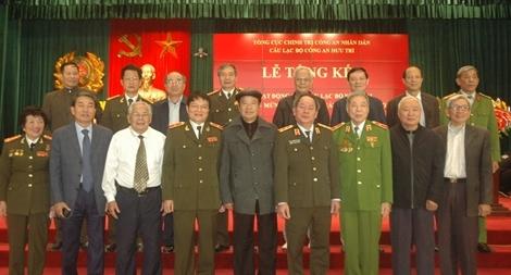 CLB Công an hưu trí Tổng cục Chính trị CAND tổng kết công tác năm 2017