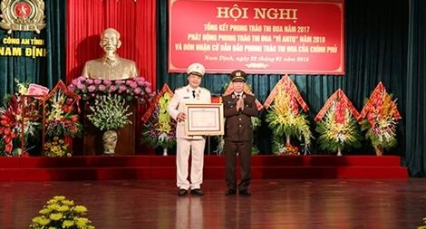 Thứ trưởng Bùi Văn Nam dự triển khai công tác Công an tỉnh Nam Định
