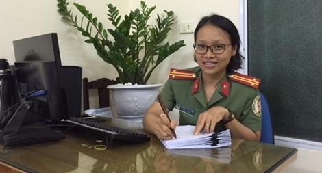 Nghị lực phi thường của nữ Trung tá Công an