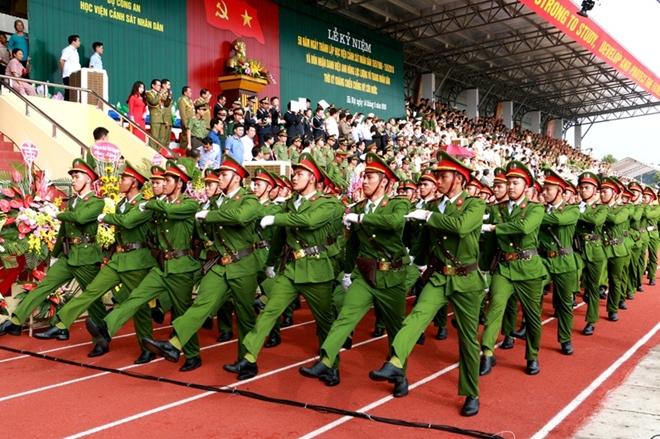 Học viện Cảnh sát kỷ niệm 50 năm ngày thành lập và đón nhận danh hiệu Anh hùng - Ảnh minh hoạ 12