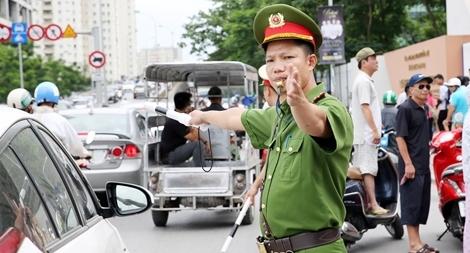 Công an Hà Nội đảm bảo an toàn ngày đầu tiên kỳ thi THPT Quốc gia 2018