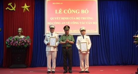 Công an Bắc Giang có tân giám đốc