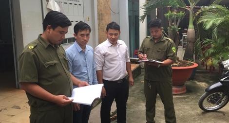 Anh Nguyễn Lê Minh Đăng nhiệt huyết giữ gìn an ninh