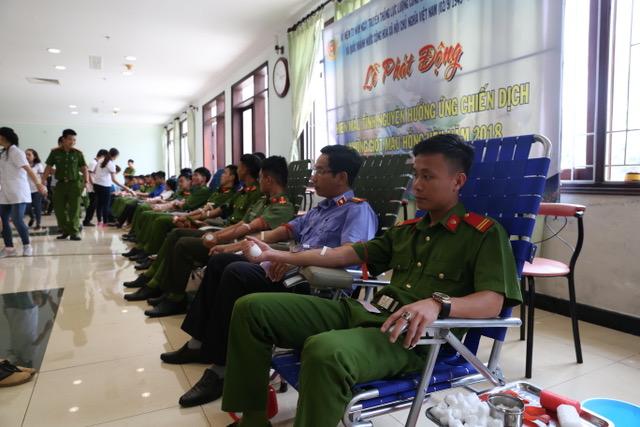 600 cán bộ, chiến sĩ Công an Đắk Nông hiến máu tình nguyện - Ảnh minh hoạ 2