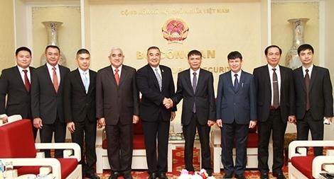 Tăng cường trao đổi, hợp tác giữa Bộ Công an Việt Nam và Cơ quan Cảnh sát Hoàng gia Thái Lan