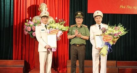 Phú Thọ: Công bố Quyết định của Bộ trưởng Bộ Công an về công tác cán bộ