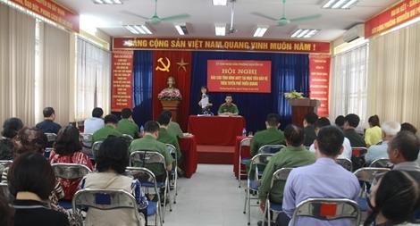 Tăng cường bảo đảm an ninh các mục tiêu trọng điểm tuyến phố Thiền Quang