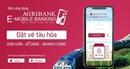 Đặt vé tàu hỏa trực tuyến ngay trên Ứng dụng Agribank E-Mobile Banking