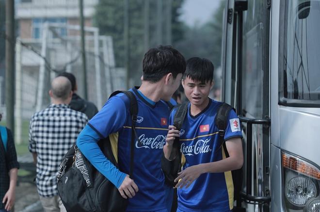 Sáng nay(21-12) thầy trò HLV Park Hang-seo hội quân tại trung tâm huấn luyện trẻ của Liên đoàn bóng đá Việt Nam (VFF)