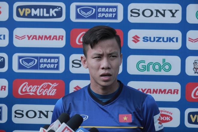 Quế Ngọc Hải là đội trưởng mới của đội tuyển Việt Nam tạiAsian Cup 2019. Ảnh: Phong Sơn