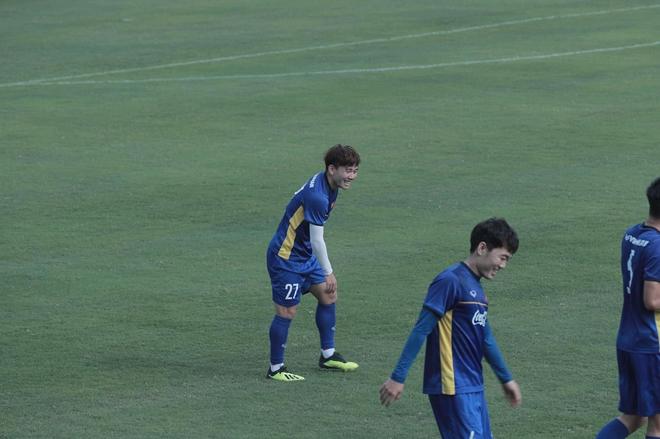 Minh Vương và Xuân Trường cũng tỏ ra khá vui vẻ
