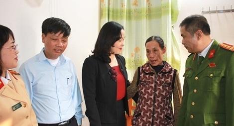 """Hội Phụ nữ Công an quận Hồng Bàng xây nhà """"Mái ấm tình thương"""""""