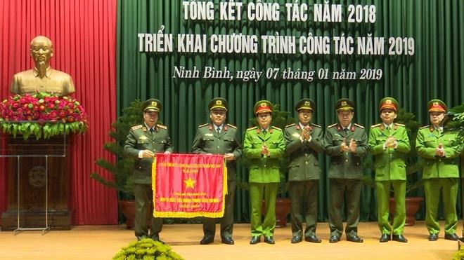 Công an tỉnh Ninh Bình tổng kết công tác năm 2018 và  triển khai công tác năm 2019