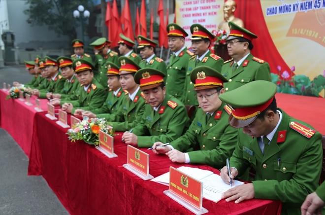 Bộ Tư lệnh CSCĐ phát huy truyền thống – thi đua lập công
