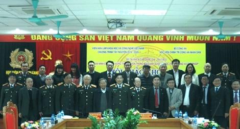 """Hội thảo """"Bối cảnh quốc tế mới và những tác động, ảnh hưởng đến an ninh chính trị Việt Nam"""""""