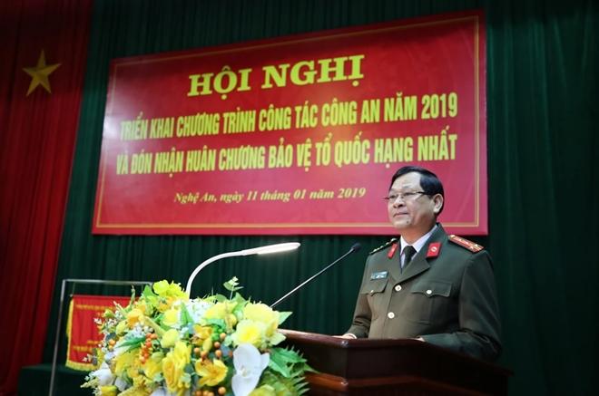 Thứ trưởng Nguyễn Văn Thành dự Hội nghị triển khai Công tác năm 2019 của Công an tỉnh Nghệ An - Ảnh minh hoạ 6