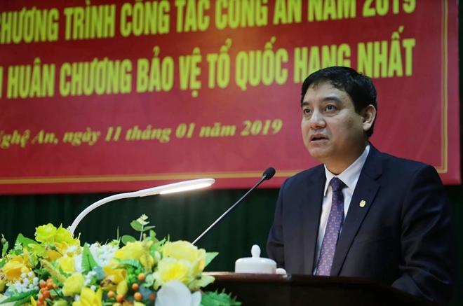 Thứ trưởng Nguyễn Văn Thành dự Hội nghị triển khai Công tác năm 2019 của Công an tỉnh Nghệ An - Ảnh minh hoạ 4