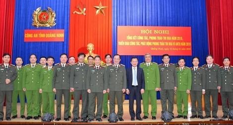Công an Quảng Ninh đạt tỷ lệ điều tra trọng án 95%