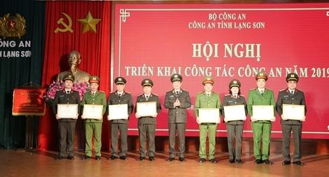 Công an tỉnh Lạng Sơn tổ chức hội nghị triển khai công tác 2019