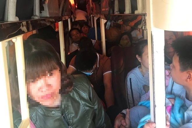 68 trường hợp xe ô tô nhồi thừa khách bị phát hiện ở Thanh Hoá